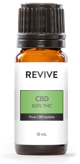 REVIVE CBD 0.0% THC products have undetectable levels of THC so will not show up on drug tests. It is tasteless and formulated to help relieve pain, reduce stress, alleviate anxiety, and helps you get a good night's sleep.