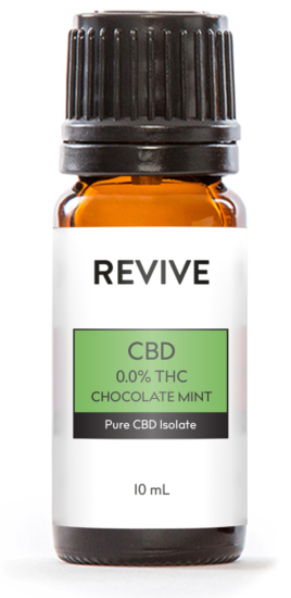 REVIVE CBD 0.0% THC products have undetectable levels of THC so will not show up on drug tests. They are formulated to help relieve pain, reduce stress, alleviate anxiety, and helps you get a good night's sleep.