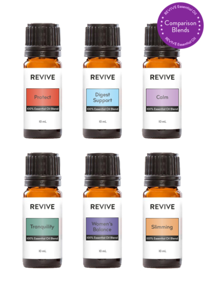 Our Compare Blends Kit contains REVIVE Versions of the Most Popular doTERRA® Blends!