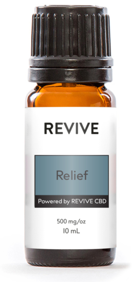 100% Organic full-spectrum CBD Oil + REVIVE Essential Oils