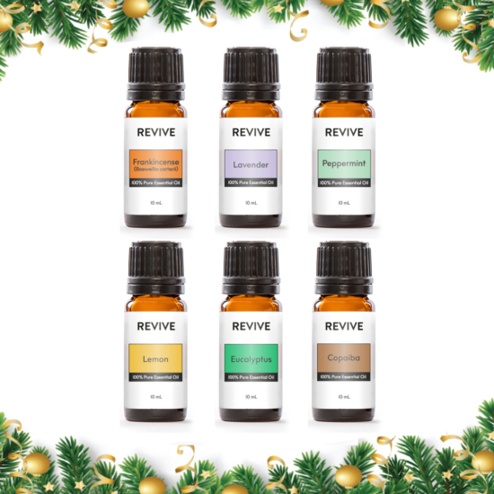 This is a kit of our 6 Best Selling Essential Oils: Frankincense Carterii, Lavender, Peppermint, Lemon, Eucalyptus, Copaiba