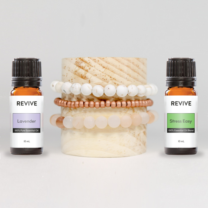 REVIVE Delfina Diffuser Bracelet Stack JUST $46! | Delfina Stack + Lavender + Stress Easy