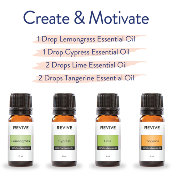 Diffuser Blends For The New Year - REVIVE Essential Oils
