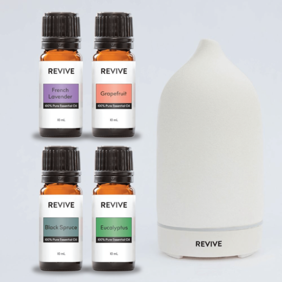 REVIVE Sampler Kit + Champagne Diffuser