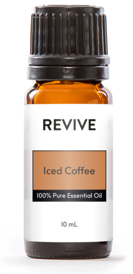 REVIVE Iced Coffee is a NEW Coffee Essential Oil that is made from Super Roasted Arabica Beans!