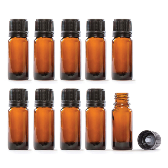 Now your favorite REVIVE Essential Oil Bottles are available for DIY projects. This pack includes 10 x 10ml bottles and caps.